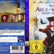 Alice im Wunderland 2 - Hinter den Spiegeln (2016) R2 German Custom Blu-Ray Covers & Labels