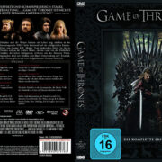 Game of Thrones Staffel 1 (2012) R2 German Custom Cover & labels