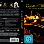Game of Thrones Staffel 2 (2012) R2 German Custom Cover & labels