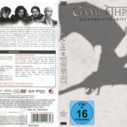 Game of Thrones Staffel 3 (2013) R2 German Custom Cover & labels