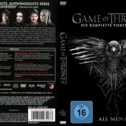 Game of Thrones Staffel 4 (2014) R2 German Custom Cover & labels