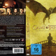Game of Thrones Staffel 5 (2015) R2 German Custom Cover & Labels