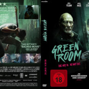 Green Room (2016) R2 German Custom Cover & labels