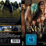 Mythica 3 Der Totenbeschwörer (2016) R2 German Custom Blu-Ray Cover & label