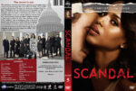 Scandal – Season 5 (2016) R1 Custom Cover & labels
