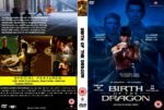 Birth Of The Dragon (2016) R0 CUSTOM DVD Cover