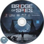 Bridge of Spies (2015) R4 Blu-Ray Label