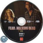 Fear The Walking Dead: Season 1 (2015) R4 DVD labels