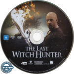 The Last Witch Hunter (2015) R4 DVD label