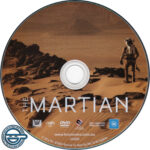 The Martian (2015) R4 DVD Label