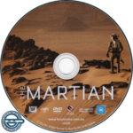 The Martian (2015) R4 DVD Label