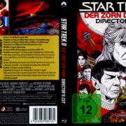 Star Trek II: Der Zorn des Khan (1982) R2 German Blu-Ray Covers