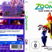 Zoomania (2016) R2 German Blu-Ray Cover