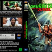 Auf der Jagd nach dem grünen Diamanten – Und Dem Juwel Vom Nil (1984-1985) R2 German Custom Blu-Ray Cover