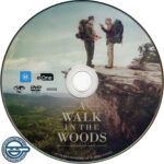 A Walk In The Woods (2015) R4 DVD Label