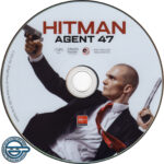 Hitman: Agent 47 (2015) R4 DVD Label