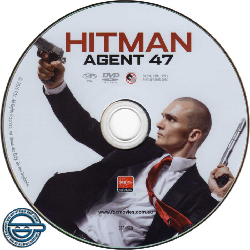 Hitman Agent 47 Dvd Label 2015 R4