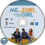 Me And Earl And The Dying Girl (2015) R4 DVD Label