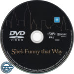 She's Funny That Way (2014) R4 DVD Label