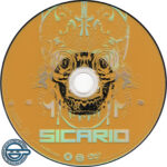 Sicario (2015) R4 DVD Label