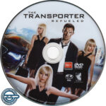 The Transporter Refueled (2015) R4 DVD Label