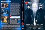 Equilibrium (2015) R2 German Cover & Label
