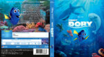 Findet Dory (2016) R2 German Custom Blu-Ray Cover & labels