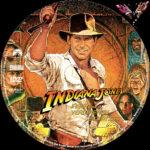 Indiana Jones 1 – Jäger des verlorenen Schatzes (1981) R2 German Custom Labels