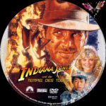 Indiana Jones 2 – und der Tempel des Todes (1984) R2 German Custom Labels