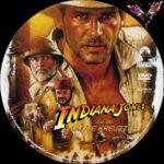 Indiana Jones 3 – und der letzte Kreuzzug (1989) R2 German Custom Labels