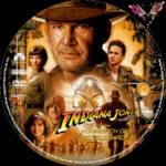 Indiana Jones 4 – und das Königreich des Kristallschädels (2008) R2 German Custom Labels