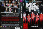 Misfits – Staffel 1 (2009) R2 German Custom Cover & labels