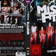 Misfits - Staffel 1 (2009) R2 German Custom Cover & labels