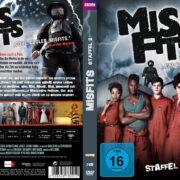 Misfits – Staffel 2 (2010) R2 German Custom Cover & labels