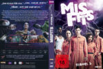 Misfits – Staffel 3 (2011) R2 German Custom Cover & labels