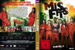 Misfits – Staffel 4 (2012) R2 German Custom Cover & labels