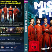 Misfits – Staffel 5 (2013) R2 German Custom Cover & labels