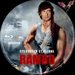 Rambo (1982) R2 German Custom Blu-Ray Label