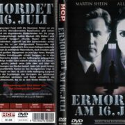 Ermordet am 16 Juli (1994) R2 German Cover & label