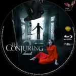 The Conjuring 2 (2016) R2 German Custom Blu-Ray Label