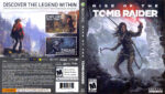 Rise of the Tomb Raider (2015) XBOX ONE USA Cover Label