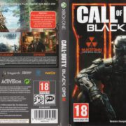 Call of Duty Black Ops 3 (2015) XBOX ONE French Cover & Label