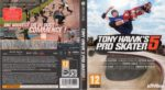 Tony Hawk's Pro Skater 5 (2015) XBOX ONE French Cover & Label