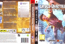 Uncharted 2 Among Thieves (2009) PS3 German Cover & Label