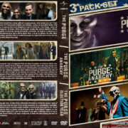 The Purge Triple Feature (2013-2016) R1 Custom Cover