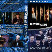 Now You See Me Double Feature (2013-2016) R1 Custom Blu-Ray Covers