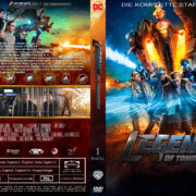 Legends of Tomorrow Staffel 1 (2016) R2 German Custom Cover & labels