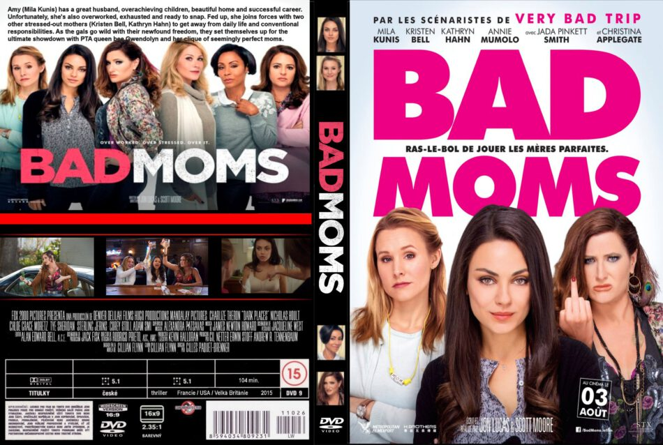 A Bad Moms Christmas Dvd Cover.Bad Moms Dvd Cover Label 2016 R0 Custom