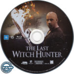 The Last Witch Hunter (2015) R4 Blu-Ray Label