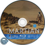 The Martian (2015) R4 Blu-Ray Label